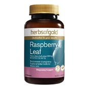 Herbs of Gold Raspberry Leaf 60 Tablets