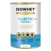 Isowhey Clinical Diabetic Formula Vanilla 640g