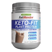 Naturopathica FatBlaster Keto Fit Plant Protein Chocolate 300g