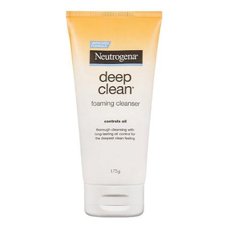 Neutrogena Deep Clean Foaming Cleanser Oil Control 175g