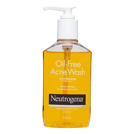 Neutrogena Oil-Free Acne Wash 175ml