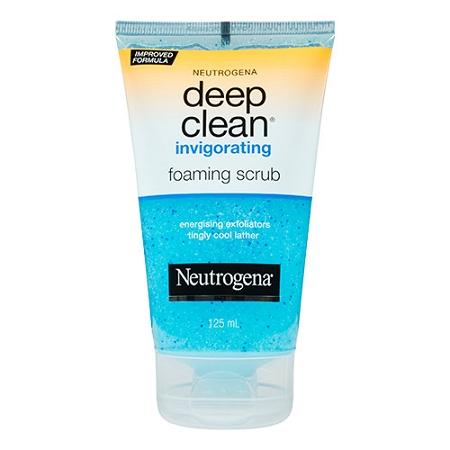 Neutrogena Deep Clean Foaming Scrub 125ml