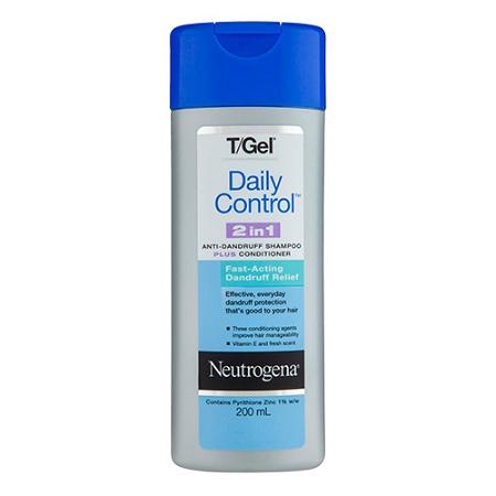 Neutrogena T/Gel 2-in-1 Anti-Dandruff Shampoo Plus Conditioner 200ml