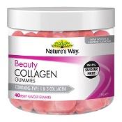 Natures Way Beauty Collagen 40 Gummies