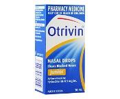 Otrivin Junior Nasal Drops 10ml