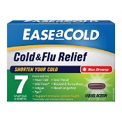 Ease a Cold Cold & Flu Relief Day 18 Capsules