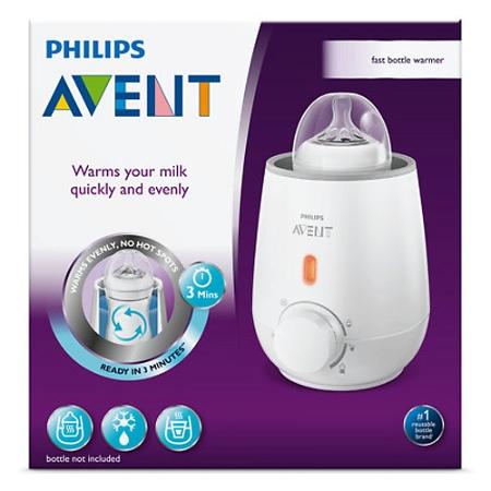 Avent Electric 240V Fast Baby Bottle Warmer
