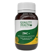 Quality Health Zinc+ 70 Tablets