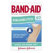 Band-Aid Aquablock Waterproof 40 Sterile Strips