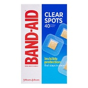 Band-Aid Clear Spots 40 Sterile Spots