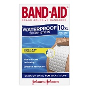 Band-Aid Waterproof Tough Strips Extra Large 10 Pack
