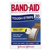 Band-Aid Tough Strips 20 Fabric Strips