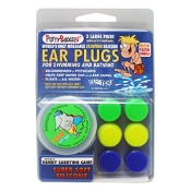 Putty Buddies Floating Silicone Ear Plugs 3 Pairs with Case