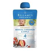 Bellamys Organic Berries Cinnamon & Apple 120g