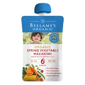 Bellamys Organic Spring Veg Macaroni 120g