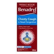 Benadryl Chesty Cough & Nasal Congestion 200ml