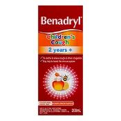 Benadryl Children's Cough 2 Years+ Honey Lemon 200ml