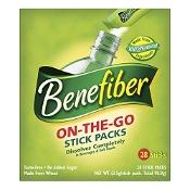 Benefiber On The Go Stick Packs 28 Serves