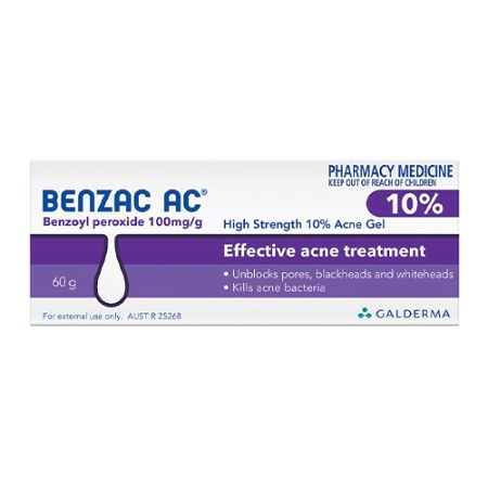Benzac AC High Strength 10.0% Acne Gel 60g