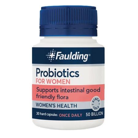 Faulding Probiotics for Women 30 Capsules