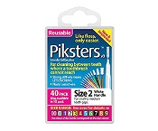 Piksters Size 2 White 40 Pack
