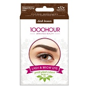 1000 Hour Eyelash & Brow Plant Based Dye Kit Dark Brown