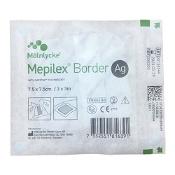 Mepilex Border AG Dressing 395200 7.5cm x 7.5cm Single