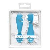 Ezpz Tiny Spoon Blue 2 Pack