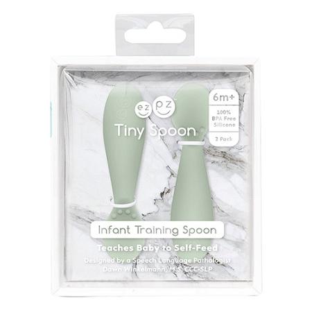 Ezpz Tiny Spoon Sage 2 Pack
