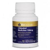 BioCeuticals Ubiquinol BioActive 150mg 60 Capsules