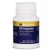 BioCeuticals D3 Capsules 60 Soft Capsules