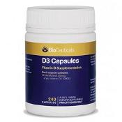 BioCeuticals D3 Capsules 240 Soft Capsules