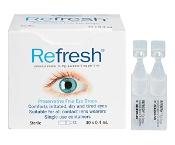 Refresh Preservative Free Eye Drops 0.4ml x 30 Vials