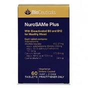 BioCeuticals NuroSAMe Plus 60 Tablets