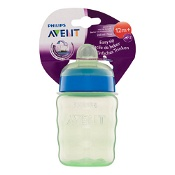 Avent Easy Sip Cup 9 Months + 260ml (Colours selected at random)