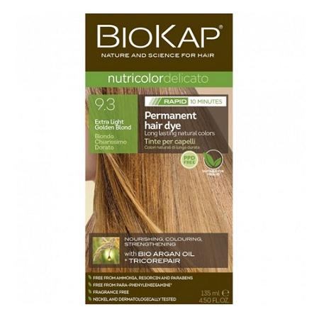 Biokap Nutricolor Delicato Rapid 9.3 Extra Light Golden Blond