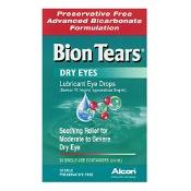 Bion Tears Lubricant Eye Drops 0.4ml x 28 Vials
