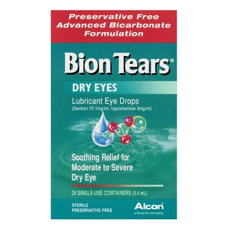Bion Tears Eye Drops 0.4ml x 28 Vials