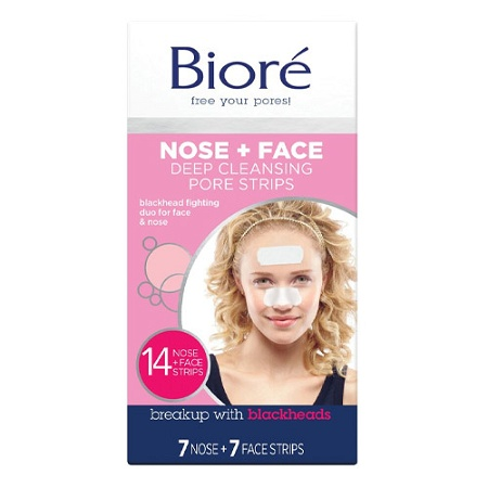 Biore Deep Cleansing Pore Strips Combo Pack 14 Strips