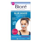 Biore Blue Agave Pore Strip 6 Pack