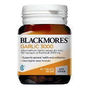 Blackmores Garlic 3000 Low Odour 60 Tablets