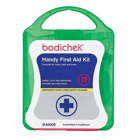 Bodichek First Aid Kit 25 Pieces (Assorted Colours)