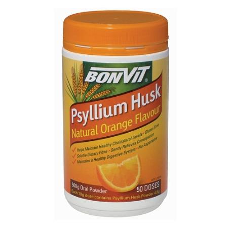 Bonvit Psyllium Husk Natural Orange 500g
