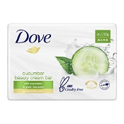 Dove Beauty Cream Bar with Cucumber & Green Tea 100g x 4 Bars