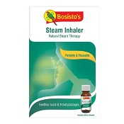 Bosistos Steam Inhaler with Eucalyptus Inhalant 25ml