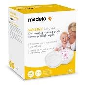 Medela Safe & Dry Ultra Thin Disposable Nursing Pads 60 Pack