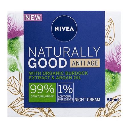 Nivea Naturally Good Anti Age Night Cream 50ml