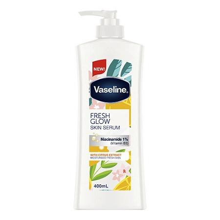 Vaseline Fresh Glow Skin Serum with Niacinamide 1% (Vitamin B3) 400ml
