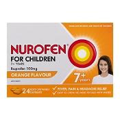 Nurofen for Children Orange 24 Chewable Capsules