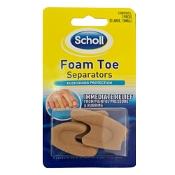 Scholl Foam Toe Separators 1 Pack